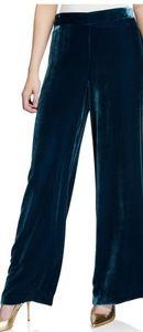 Trina Turk Penelope Wide-Leg Velvet Pant